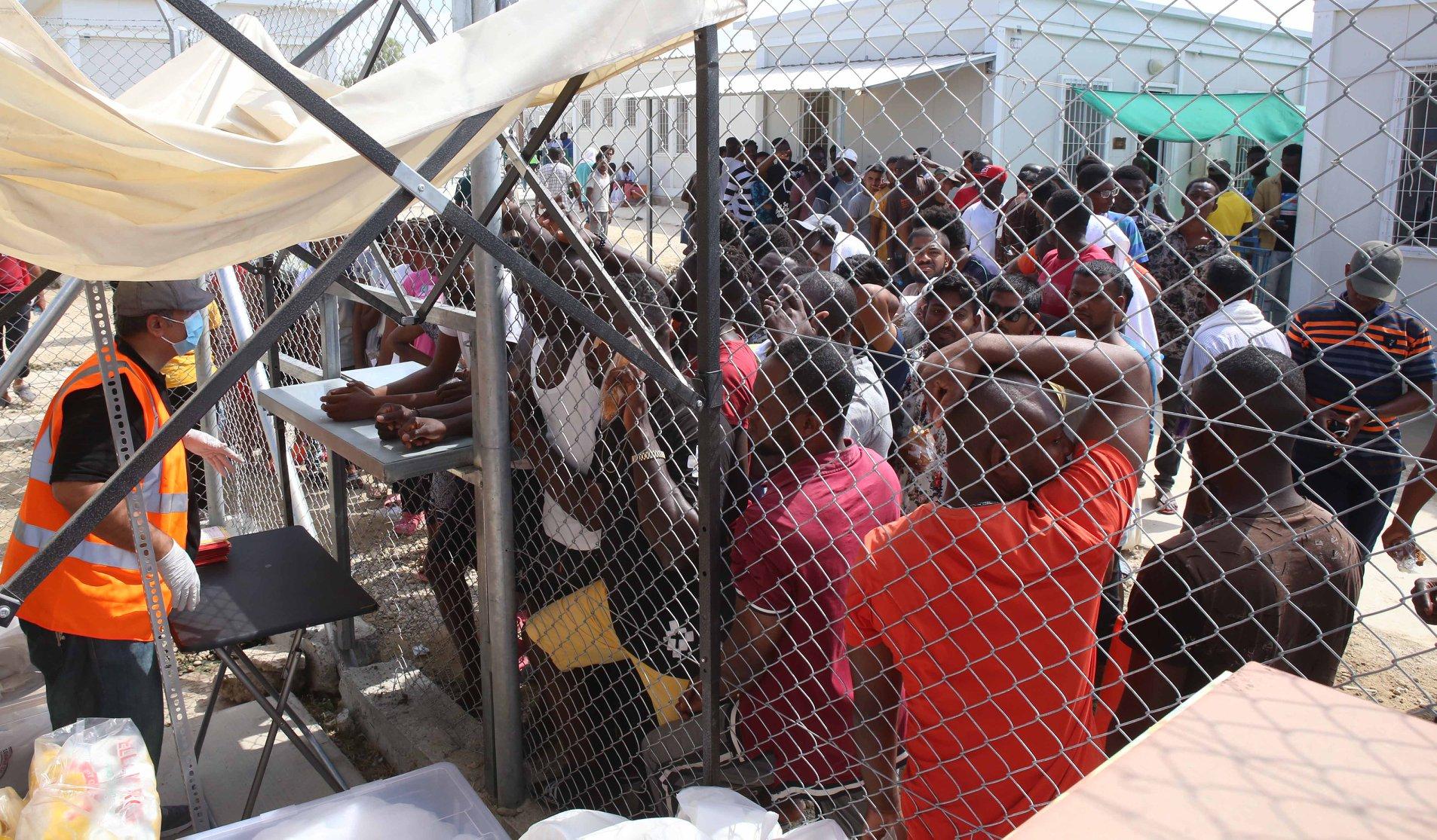 The Pournara camp in Kokkinotrimithia, Cyprus was built to host asylum seekers for a maximum of 72 hoursParikiaki | Parikiaki Cyprus and Cypriot News
