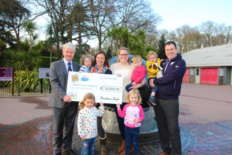 Paultons Park supports the Copythorne playground appeal