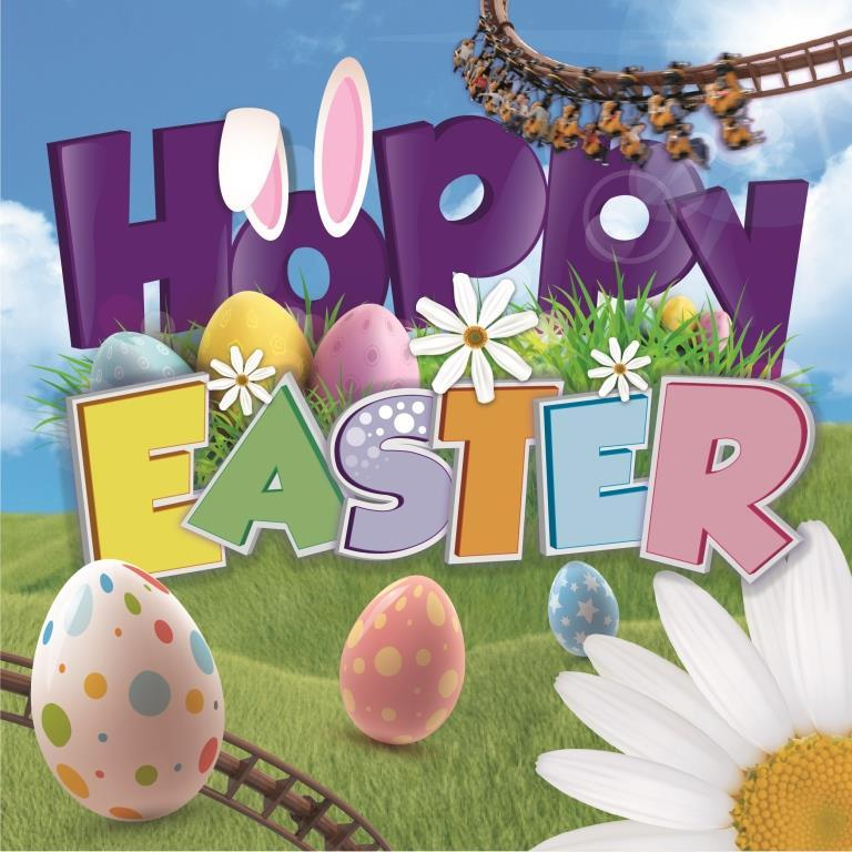 ''Hoppy'' Easter at Paultons Park