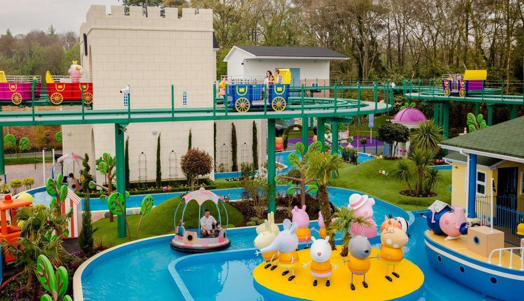 PAULTONS PARK UNVEILS NEW RIDES AT PEPPA PIG WORLD THAT ARE FIT FOR A QUEEN