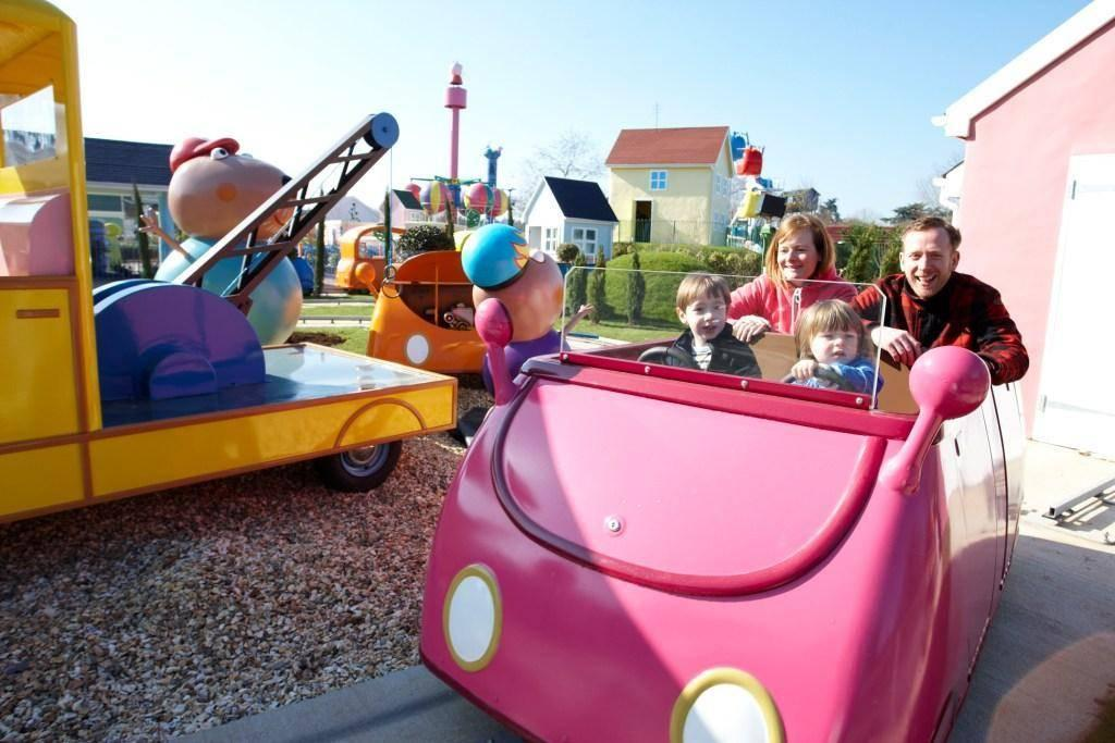 Photo Opportunities in Peppa Pig World