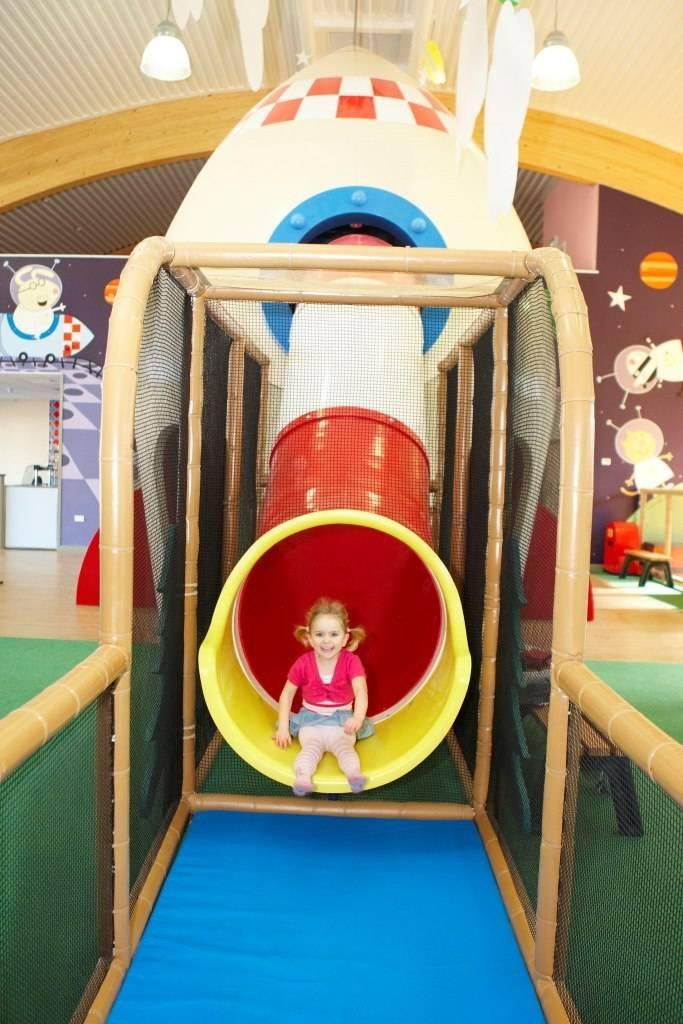 Step inside the Indoor Play-zone in Peppa Pig World