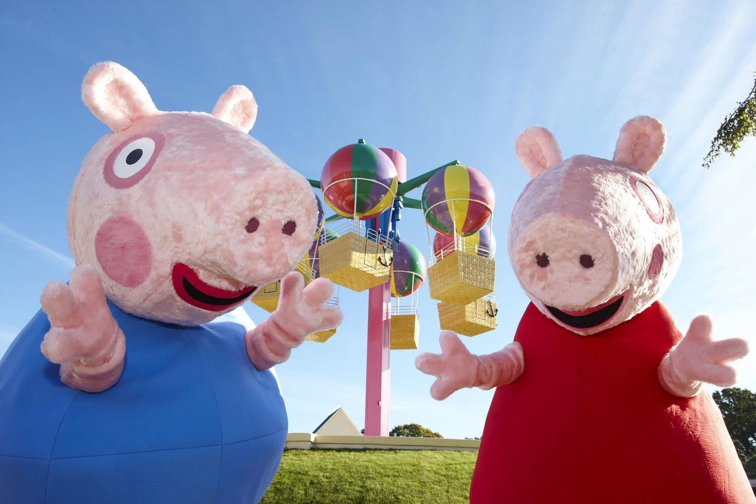 Peppa Pig World awarded Best Family Theme Park in the Tommy Awards