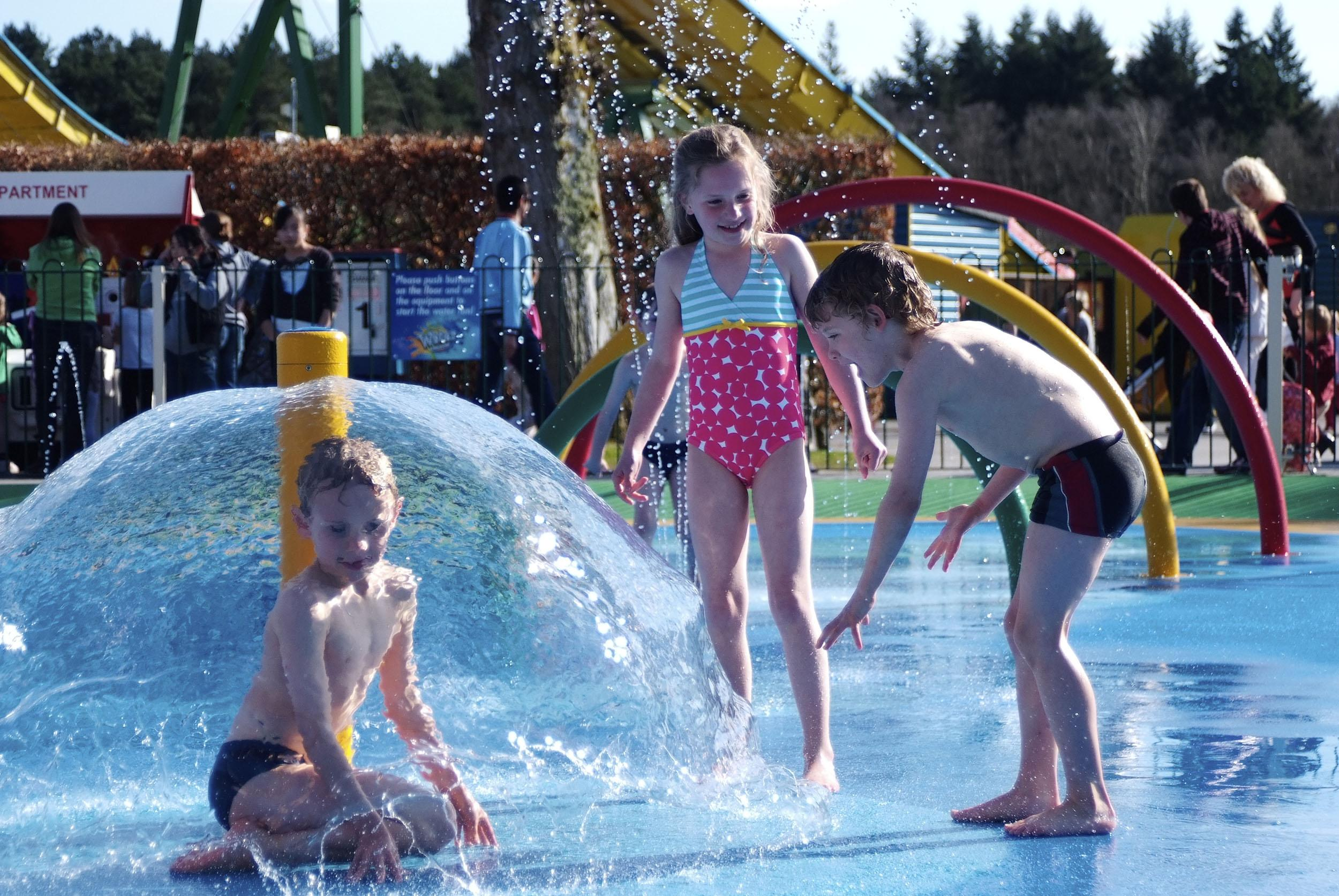 Get super soaked in our amazing water splash Parks