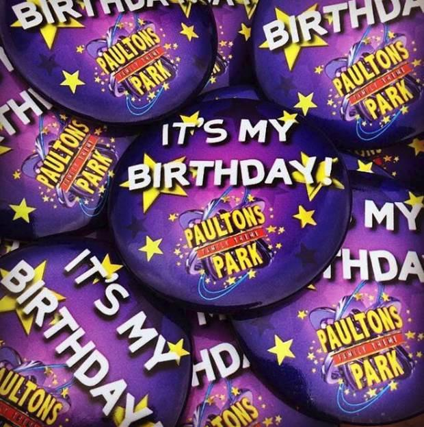 Celebrate a birthday with Paultons Park