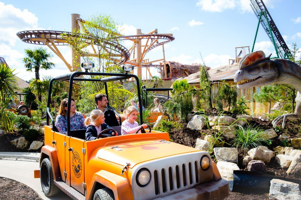PAULTONS PARK IS EUROPE'S BEST FAMILY THEME PARK