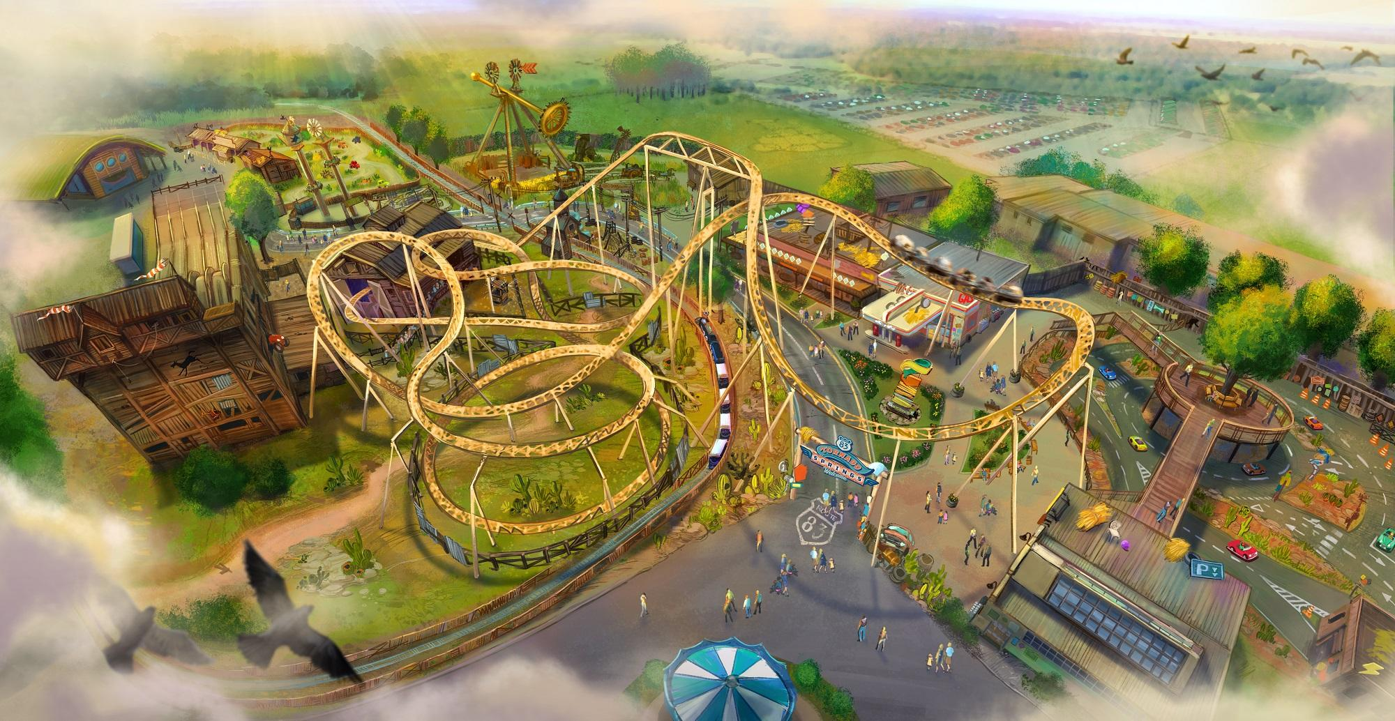 Multi-million-pound new themed world set to launch at Paultons Park in 2020