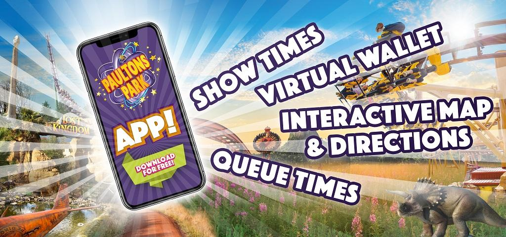Paultons Park App - Including Virtual Ticket Wallet!