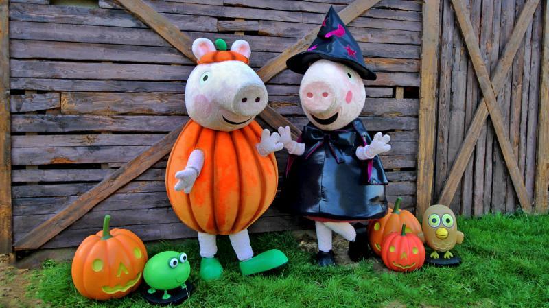 Happy Halloween at Paultons Park!