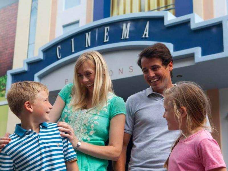 4D Cinema at Paultons Park