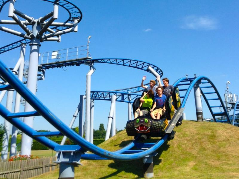 Cobra Roller Coaster at Paultons Park