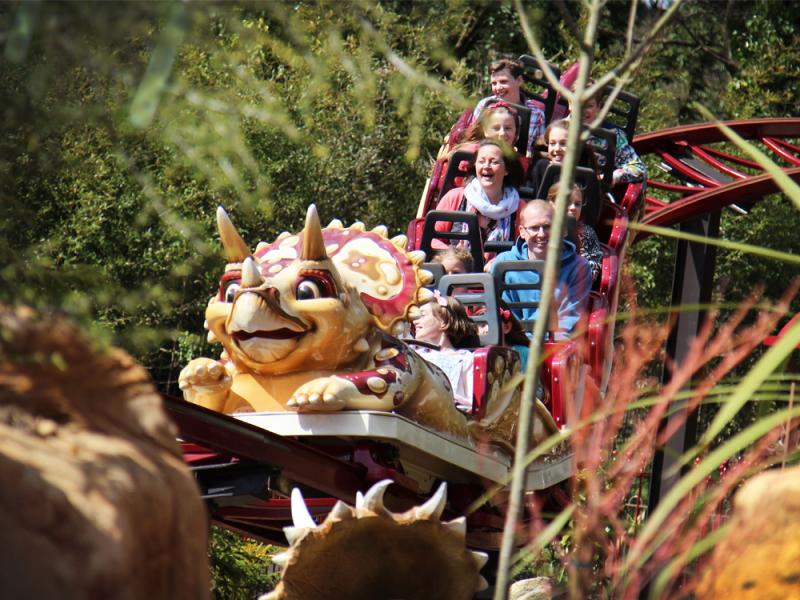 Dino Chase in Lost Kingdom at Paultons Park
