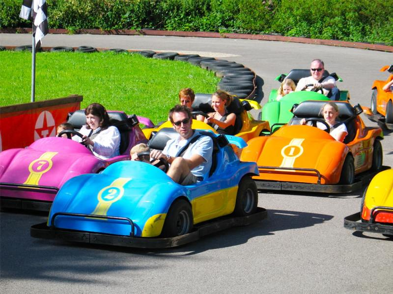 Go Karts at Paultons Park