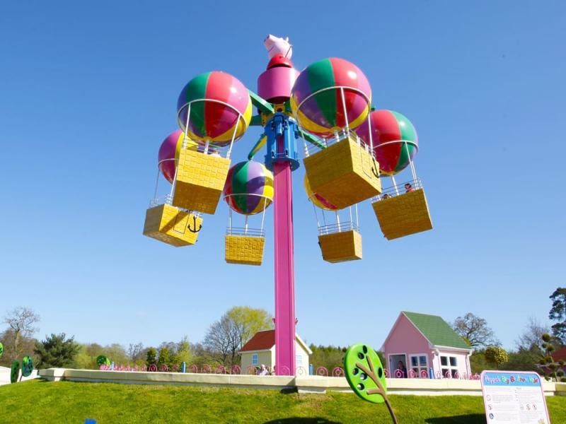 Peppa's Big Balloon Ride in Peppa Pig World at Paultons Park