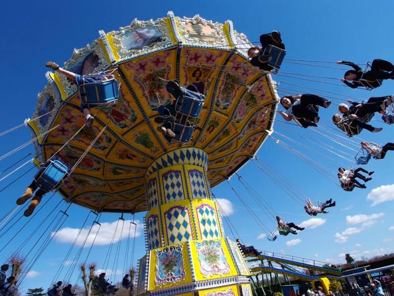 Sky Swinger at Paultons Park
