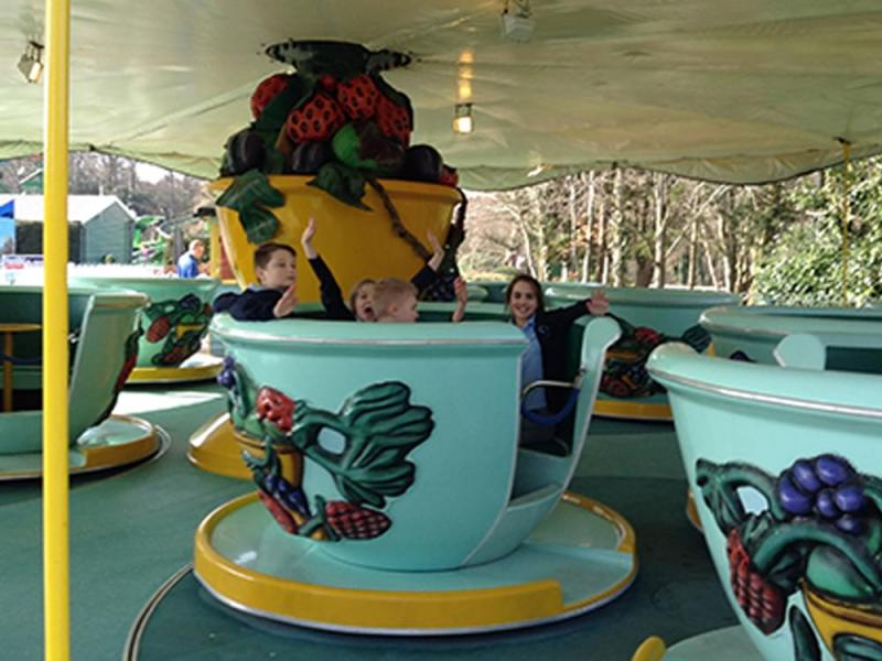 Tea Cup Ride at Paultons Park