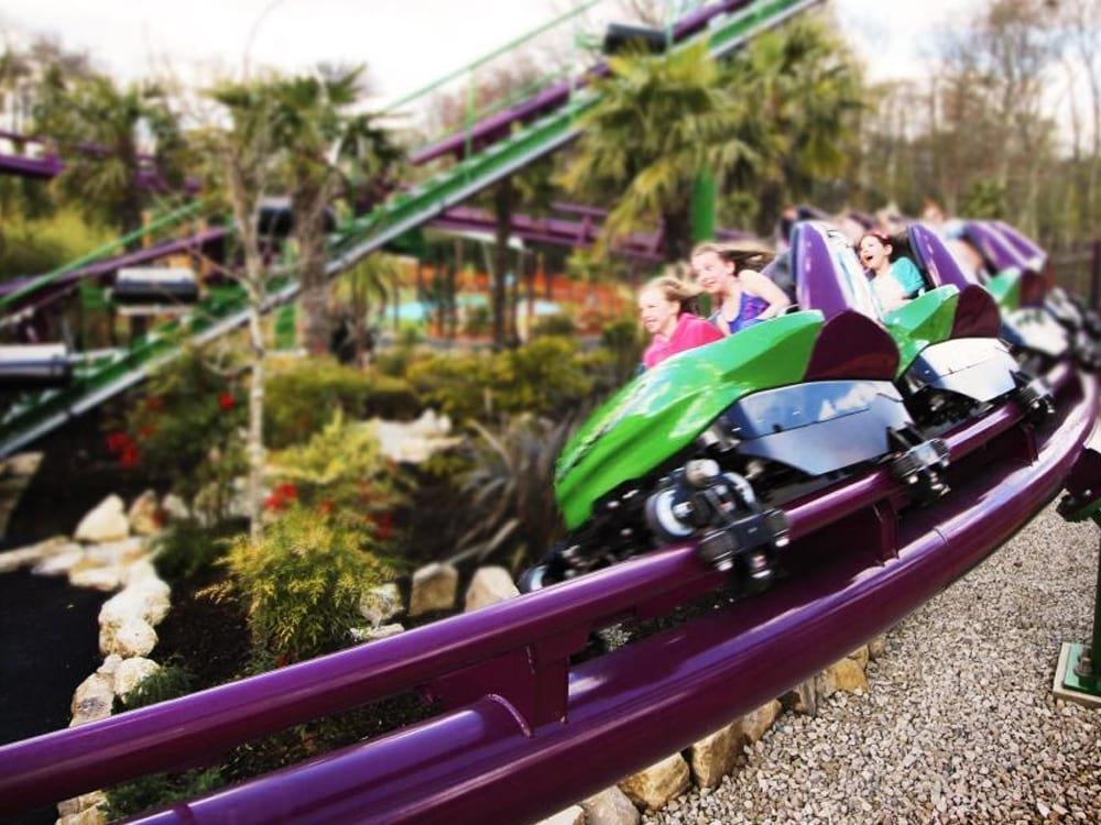 Things to Do at Paultons Park (rides) By Age