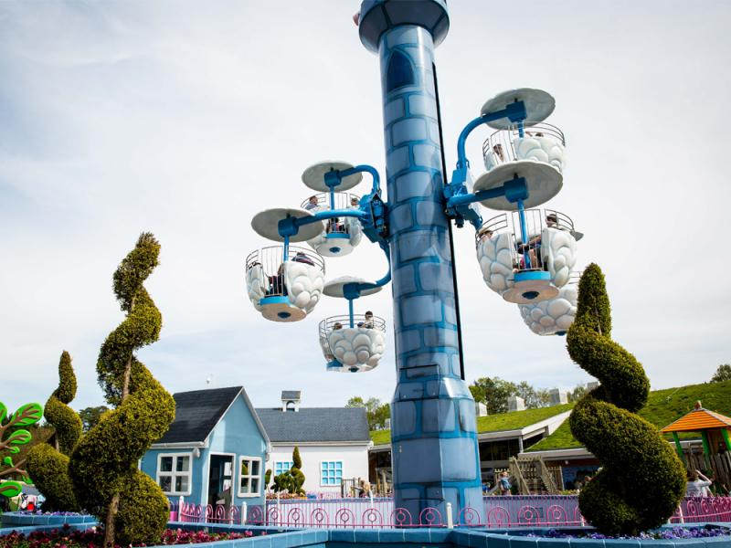 Windy Castle Ride at Peppa Pig World Paultons Park