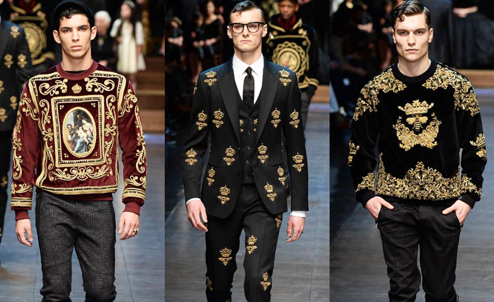 MFW: Dolce & Gabbana Autumn/Winter 2015 Collection