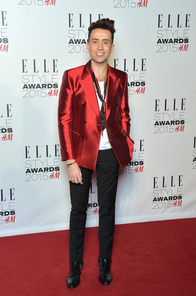 Best Dressed Men at the Elle Style Awards 2015