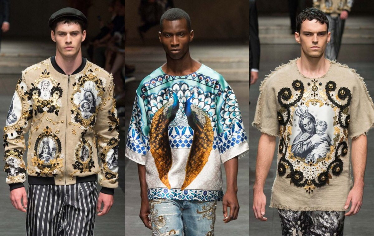 MFW: Dolce & Gabbana Spring/Summer 2016 Collection