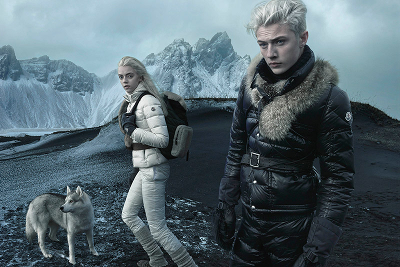 Moncler Fall/Winter 2015 Campaign Featuring Lucky B Smith