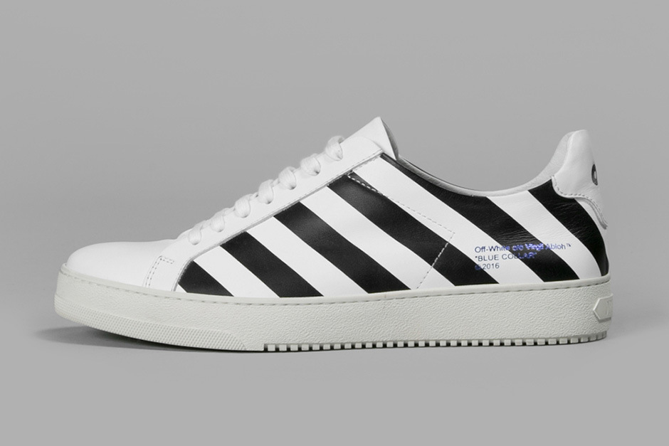 "OFF-WHITE ""Blue Collar"" Diamonds Sneaker Collection"