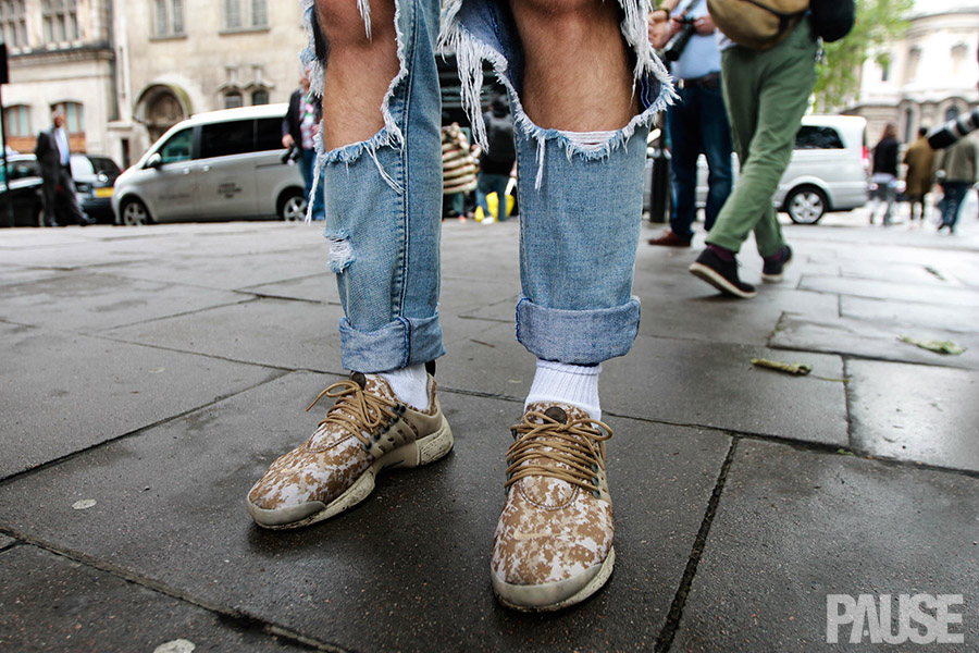 Street Style Sneakers And Faces: LCM Day 2