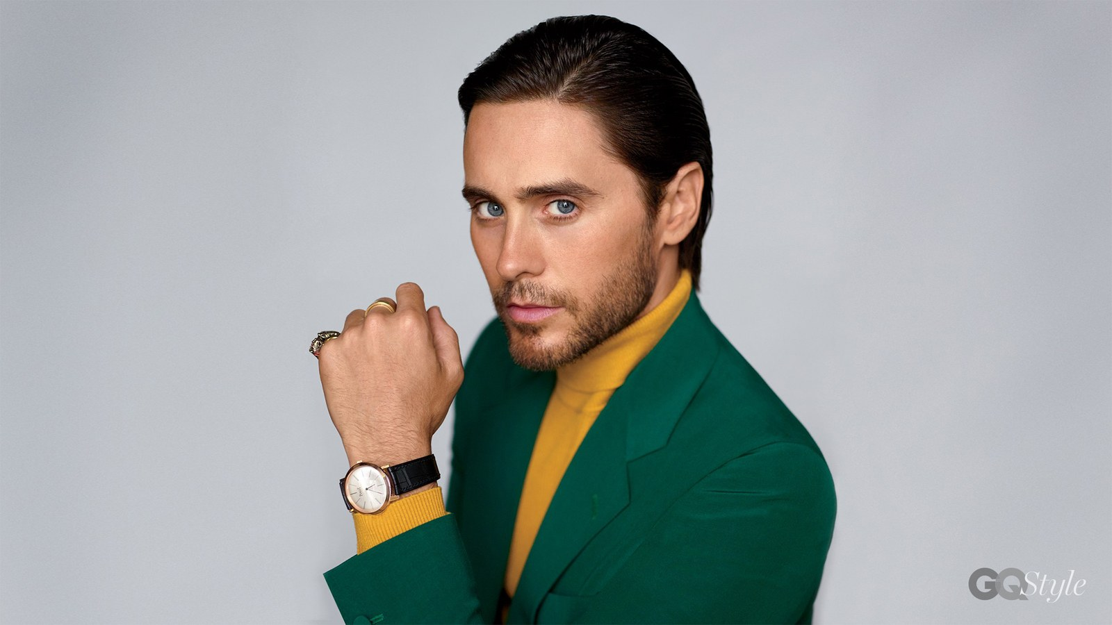 Spotted: Jared Leto in Gucci for GQ Style