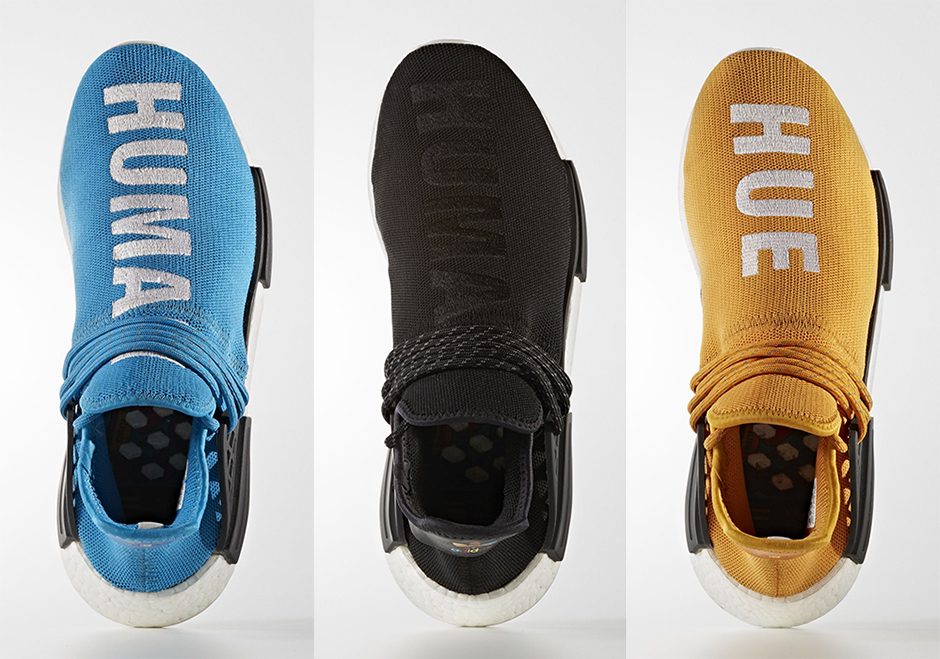 Get Ready for Five New Pairs of Pharrell's Human Race NMD