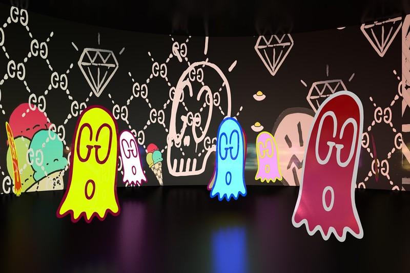 Gucci Launches The Collaborative Art Project 'Gucci 4 Rooms'