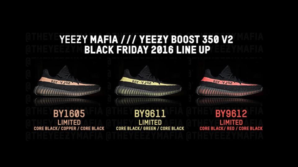 adidas yeezy boost 350 v2 core black red ebay
