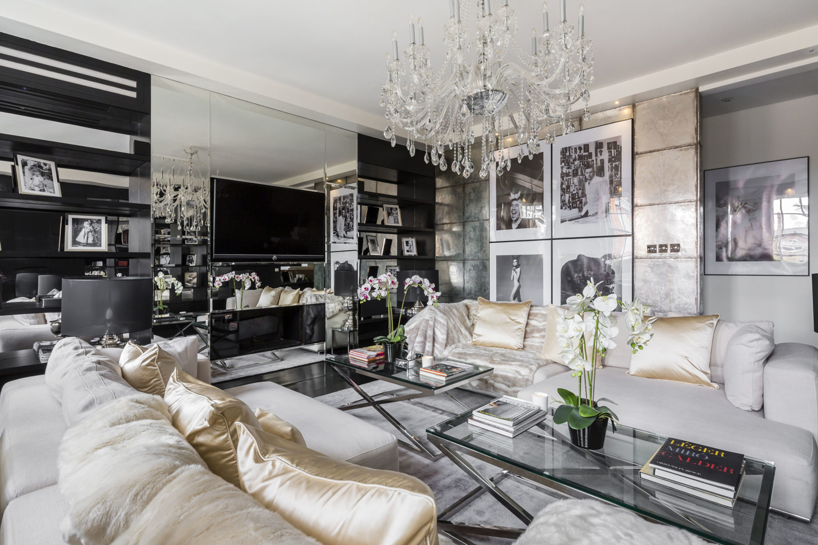 Take A Sneak Peek Into Alexander McQueen's London Penthouse