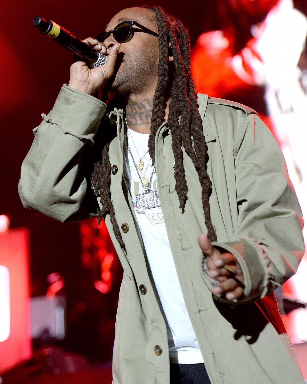 SPOTTED: Ty Dolla Sign Performs In Maison Margiela And Vans