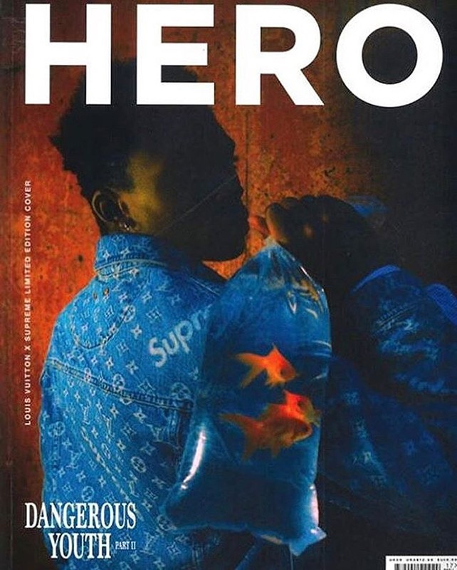 Special Edition Supreme x Louis Vuitton 'HERO' Magazine Cover