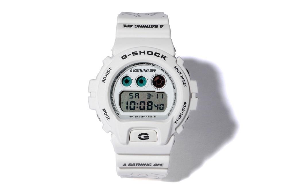 BAPE x G-Shock Watch Collaboration