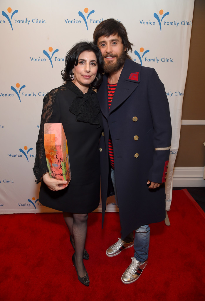 SPOTTED: Jared Leto in Gucci Coat and Sneakers
