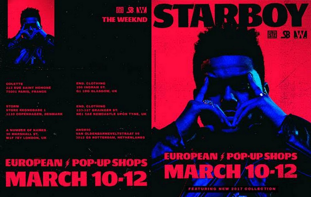 """The Weeknd To Launch New Limited-Edition """"Starboy"""" Collection"""