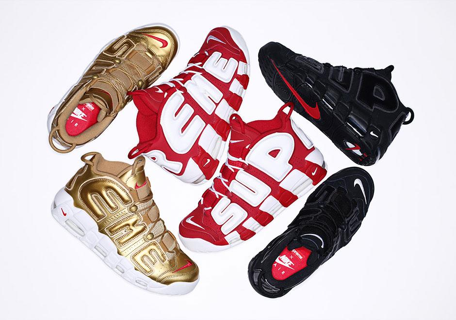 Supreme x Nike Air More Uptempo Re-Release