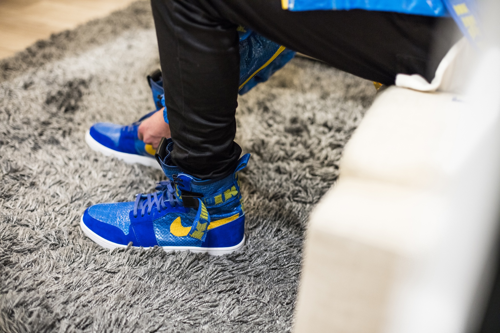 """Get The """"IKEA Pack"""" Including An Air Jordan 1 And Bomber Jacket"""