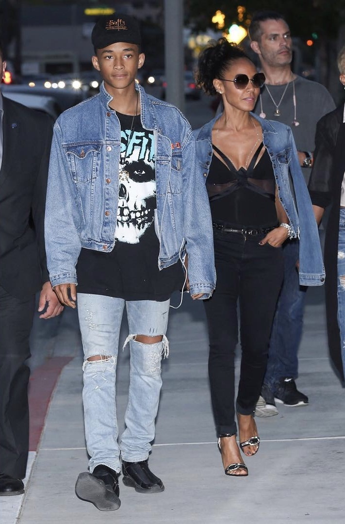 SPOTTED: Jaden Smith Wears MSFTSrep T-shirt on Mother's Day