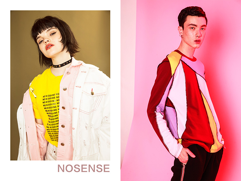 NOSENSE Release Spring/Summer 2017 Campaign