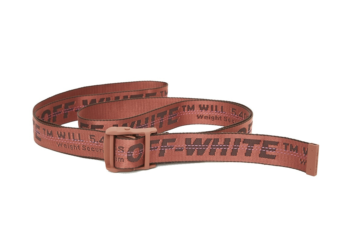 OFF-WHITE Industrial Belt Releases In New Colourways