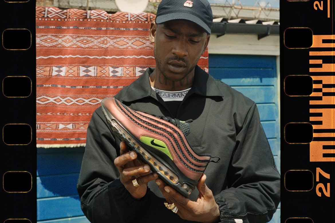 Skepta shutdowns the collab game with his Airmax 97
