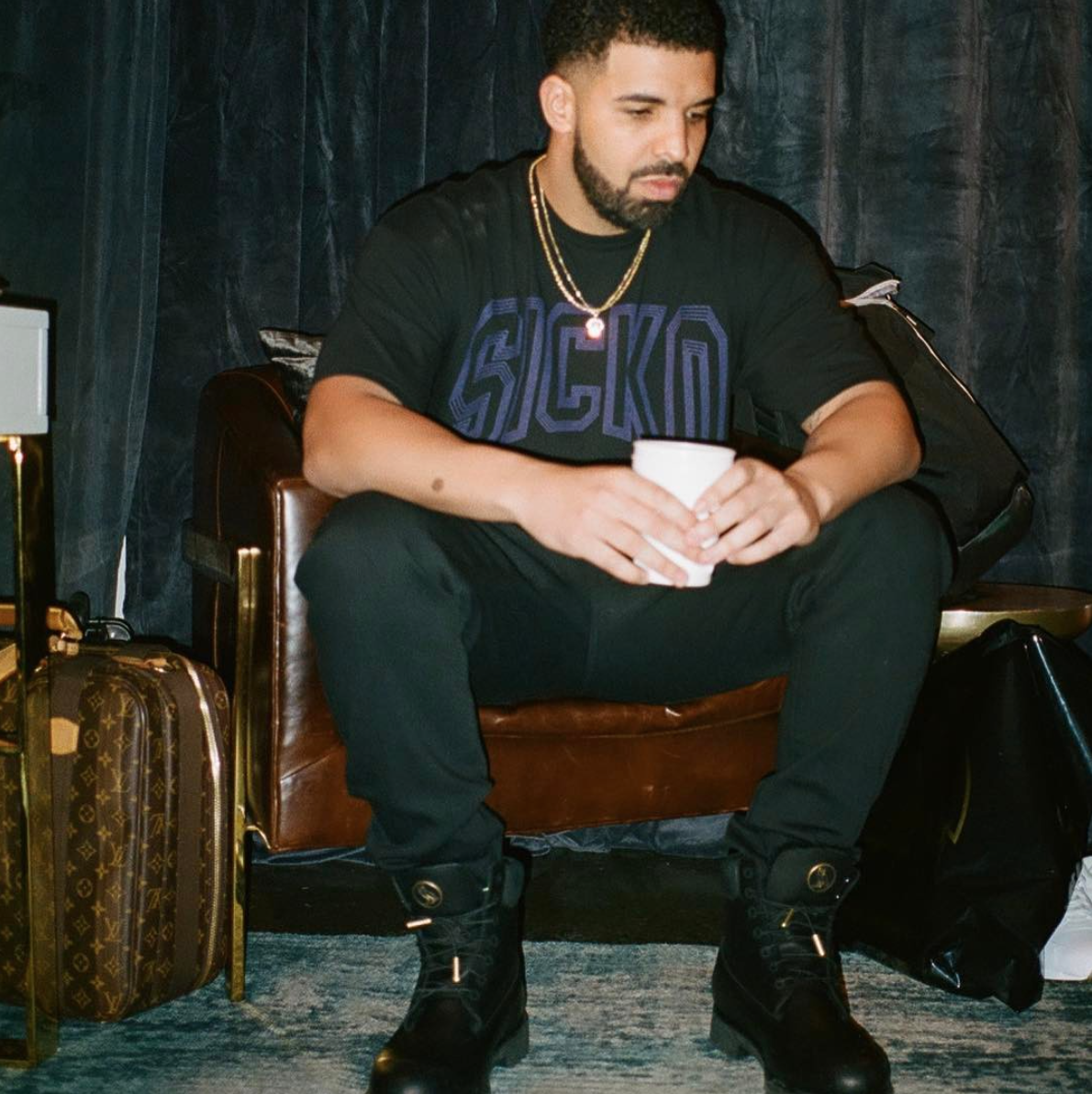 SPOTTED: Drake in OVO x Timberland Boots