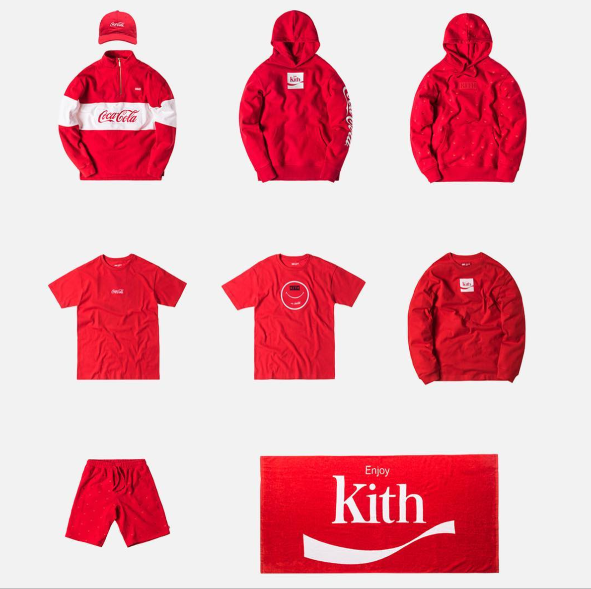 Every Piece From The Kith x Coca Cola Collaboration