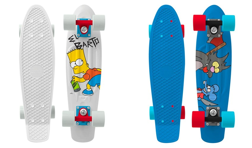 Penny Skateboards x The Simpsons Collaboration