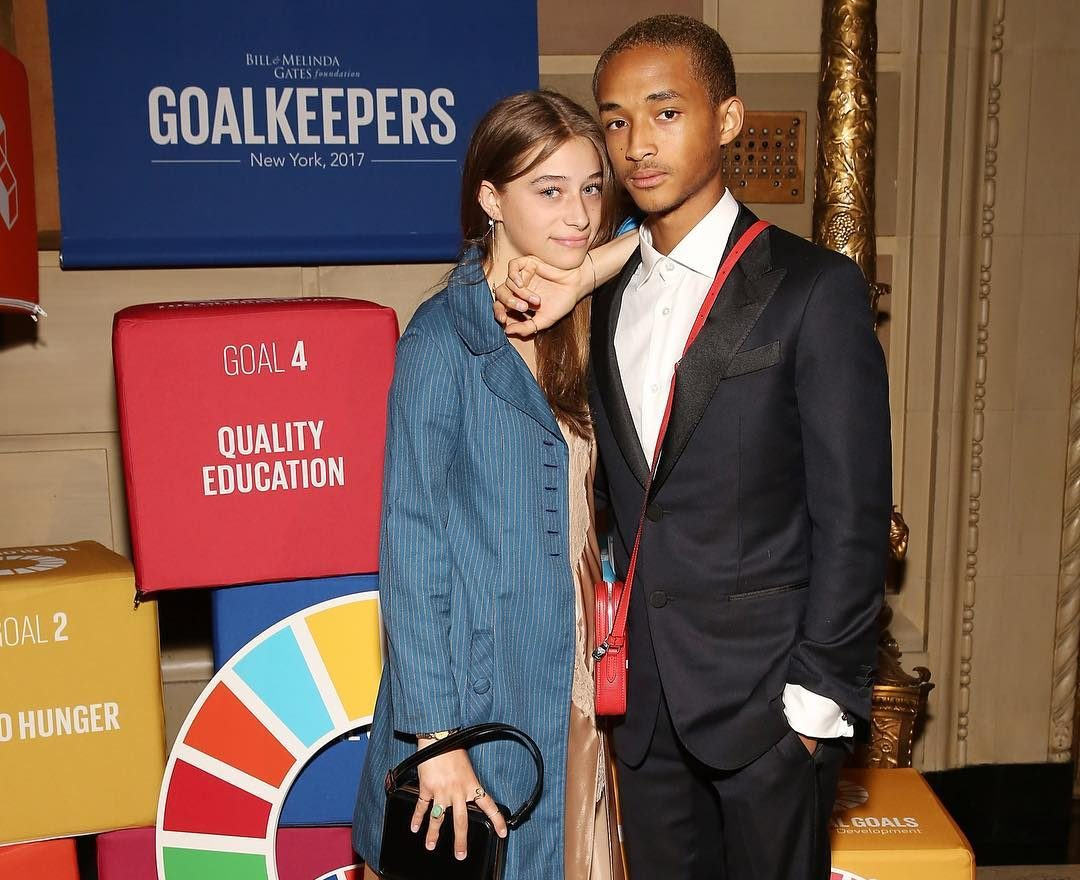 SPOTTED: Jaden Smith wearing Supreme x Louis Vuitton