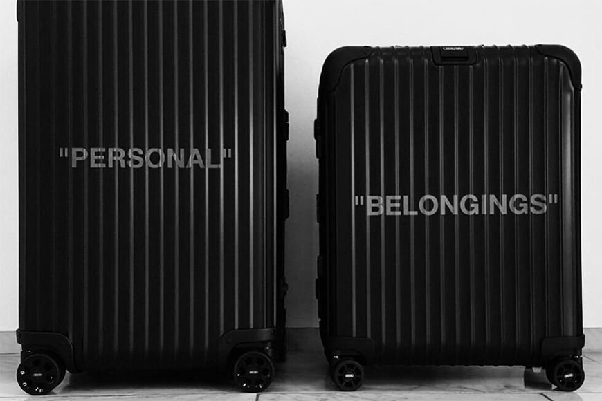 OFF-WHITE Team Up With Rimowa