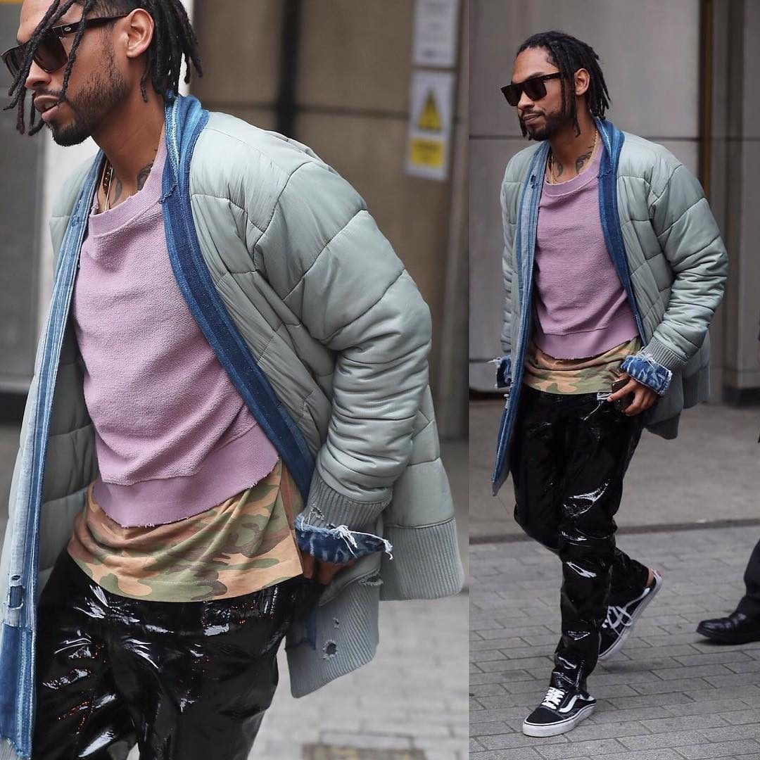 SPOTTED: Miguel in Greg Lauren, BillyLosAngeles and Gucci